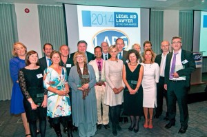Cris McCurley Legal Aid Lawyer of the Year Awards 2014