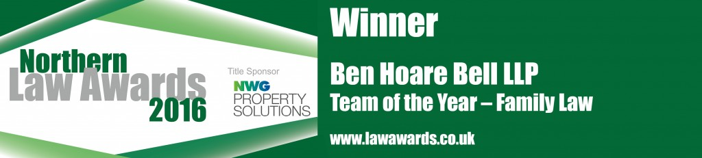 Ben Hoare Bell - Family Law Winner Logo