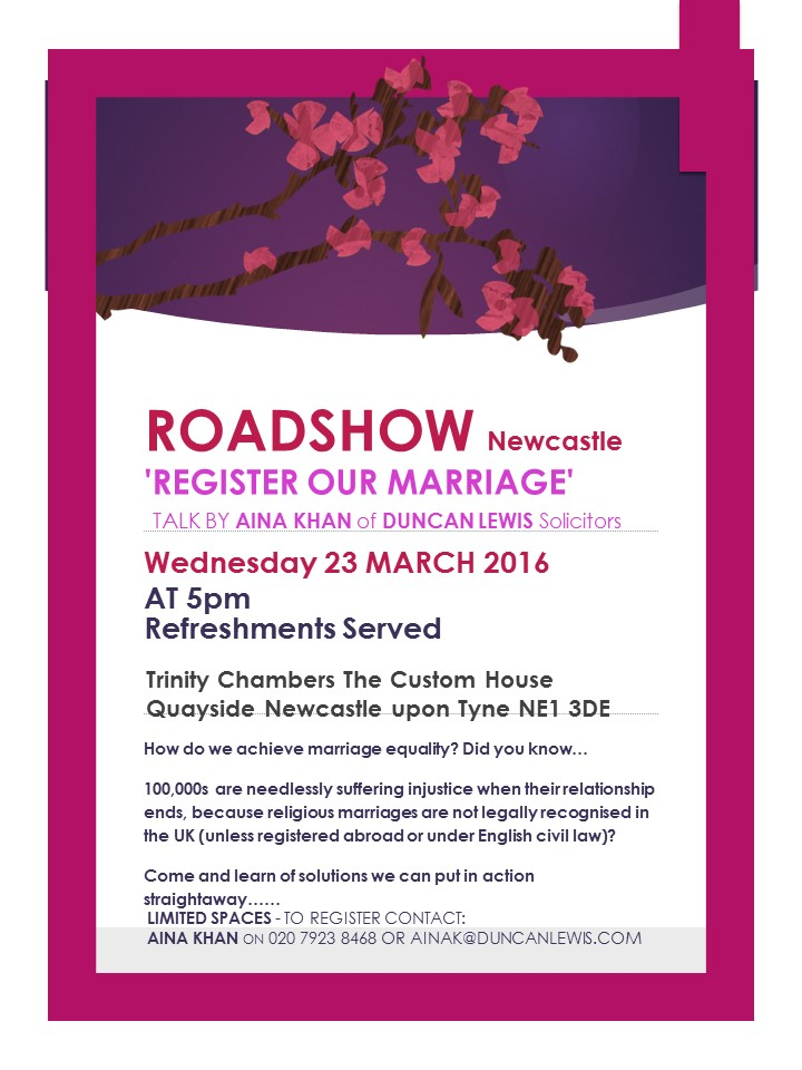 ROM Roadshow Flyer Newcastle 2016