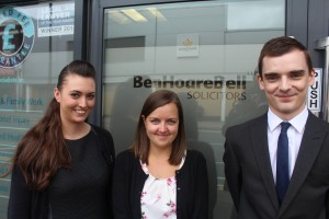 New Trainee Solicitors - Victoria Chatterton, Sarah Grieve, Anthony Lowes