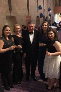 Ben Hoare Bell at Newcastle Law Society Dinner 2017