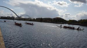 BHB with Team My Sisters Place at the Tees Dragon Boat Festival