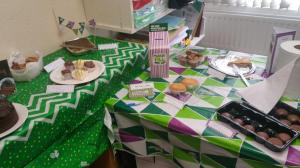 Ben Hoare Bell's Macmillan Coffee Morning