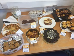 Ben Hoare Bell's Great Legal Bake Off  in support of the North East Legal Support Trust (NELST)