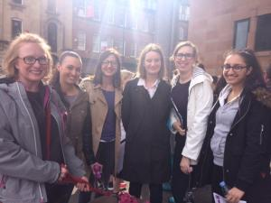 Team Ben Hoare Bell at the Newcastle Legal Walk 2017