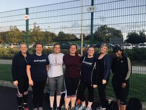 BHB Netball team finishing the summer league on a high